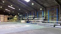0122 倉庫内の保管効率向上を目的とした固定バーラック (株)桐井製作所 福岡倉庫