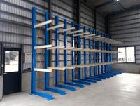 0125 材料保管の効率と取り出しの作業性の向上を両立させる保管用ラック 親和木工(株)