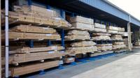 0126 プレカット工場の木拾い(アッセンブル)作業を時間短縮する材料保管用ラック (株)スペースパーツ山形