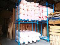 0129 在庫している断熱材を誰でも簡単に移動することを目的としたラック (株)阿久津材木店