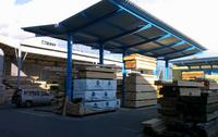 0128 敷地内の材料保管環境とアッセンブル作業の改善 (株)仙台木材市場