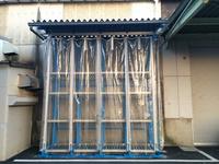 0147 製品を雨に濡らさない、ホコリを着けない出荷製品用屋外仕様バーラック 上代工業(株)