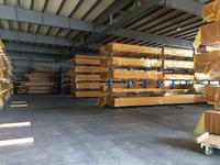0165 材料・製品の陳列を兼ねた保管ラック (株)斎藤木材工業