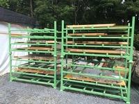 0174 石材パネルの養生ラック 植彌加藤造園株式会社