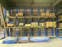 0182 パレットの異なるサイズ・重量・形状に対応したロケーションラック チヨダウーテ(株)千葉工場