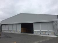 0184 異なるサイズの木材を保管する為の移動棚 さんもく工業(株)