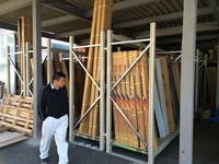 0185 屋根建材の多品種保管 (株)志水商店 柏支店
