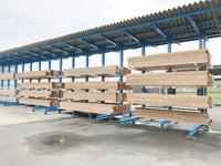 205 乾燥材のピッキングスピードを上げる為のラック 高島建設工業(株)