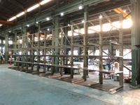 214 コンベヤー部品収納のための一部重量用棚板バーラック セントラルコンベヤー(株)