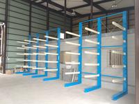 215 多くの種類の木材を収納するための多段バーラック 丸和産業(株)