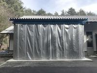 227 試験用木材を保管するためのバーラック 長野県林業総合センター 木材部