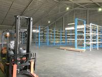 229 鋼製サプライヤー向け高収納のピッキングラック (株)桐井製作所 北九州倉庫