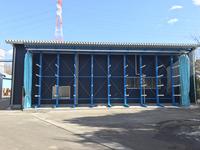 230 工場壁面が即座に保管倉庫に変身 (株)林産 宮の郷工場