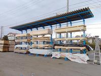 233 製材製品を屋外保管するための屋根付きラック A社