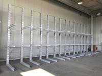 239 機械部品をパレット保管するためのバーラック A社