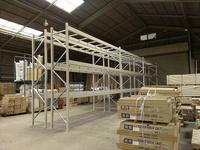 243 商品置場の空間を有効活用するためのラック A社