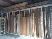 244 複数種類ある合板を縦置きで保管するためのラック (株)稲垣木工所