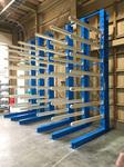 250 3×6、3×8、3×10サイズの鉄板を収納するための多段バーラック A社