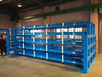 252 長尺銅板を収納するための電動スライドラック 共同カイテック(株) 神奈川技術センター