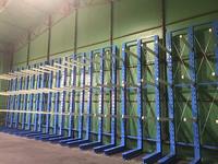 255 6尺・8尺兼用の合板保管ラック 豊田木材(株)