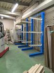 257 内装用木材を保管するためのバーラック A社