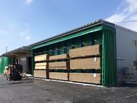 267 屋外で材料と製品を保管するためのバーラック A社