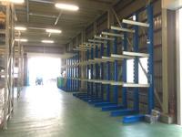268 加工前ビニールシートの保管倉庫の収納量と作業性をアップ A社