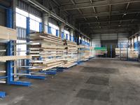 275 多品種小ロットの平角を細かく仕切って保管できるバーラック (株)北成中林