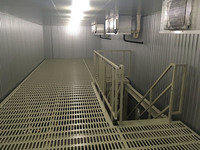 277 冷凍倉庫内のスペースを有効活用するための形鋼棚 A社