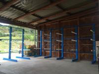 286 建築資材を保管し見える化できる固定式バーラック K・H建工(株)