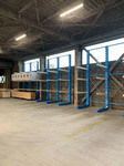 288 3m及び4mの木材を多段保管するためのバーラック A社