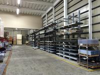 295 ホームセンター商材(建築資材)を在庫するためのラック A社