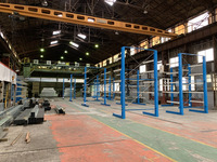 300 物流拠点の変更で廃棄することなく移設転用できる保管バーラック (株)桐井製作所 牧山倉庫