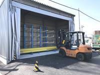 309 長尺管材を多段化保管する為のバーラック A社