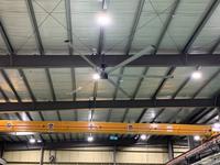 320 働きやすい職場環境のためにおすすめ!工場・店舗用大型シーリングファン (株)エッジ・エンタープライズ