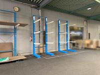 322 内装建材製品を一時保管するためのバーラック A社