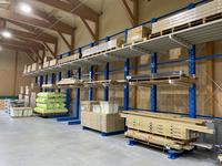 330 建材・住宅設備機器の保管作業効率を上げるためのバーラック A社