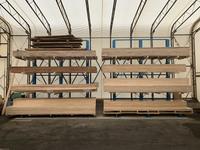 335 4mの木材を保管するためのバーラック (株)マルチ