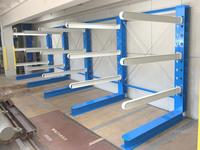 338 建築資材用H鋼や鉄板を保管するためのバーラック A社