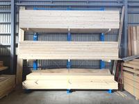 341 長尺木材、合板、住宅設備材、フロアー材を保管するためのバーラック(キャンチレバーラック) A社